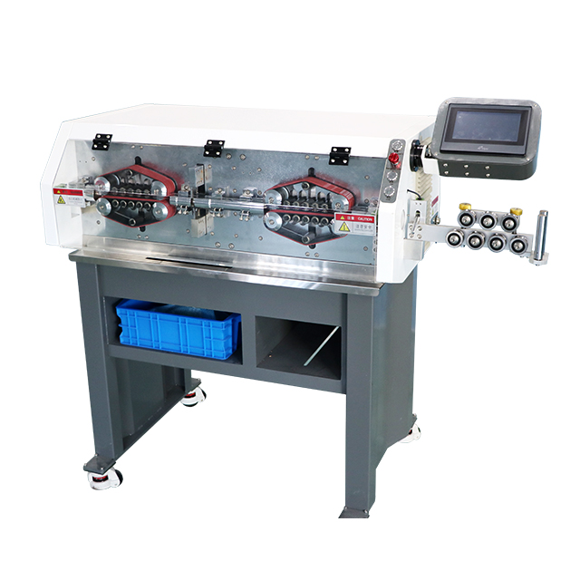 Large Gauge Cable Cutting and Stripping Machine