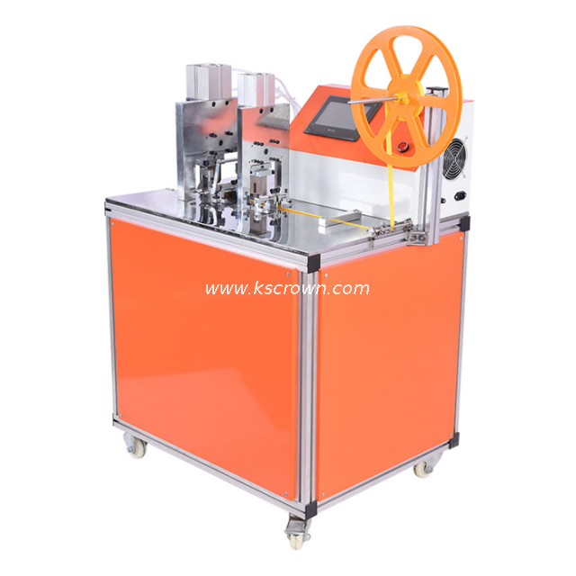 Ultrasonic Fabric Tape Punching and Cutting Machine