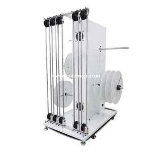 Four Reels Cable Feeding System for Wire Processing Machine
