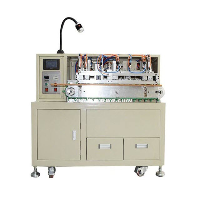 Round Multi-core Cable Peeling Twisting and Tinning Machine