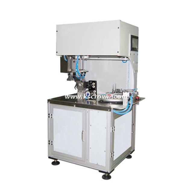Small 8 Shape Cable Coil Winding and Tying Machine