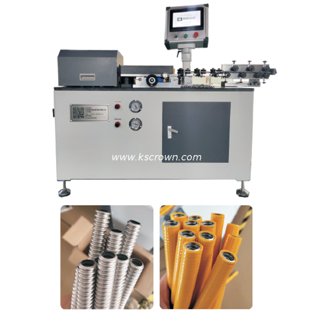 Convoluted Steel Tubing Cutting Machine