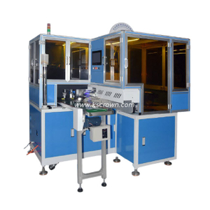 Ribbon Cable Single End Crimping and Housing Inserting Machine