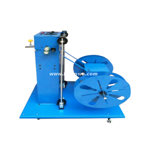 Dual Motor Dual Reel Cable Prefeeding Machine