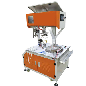 Automatic Wire 8-Shape Coiling and Bundling Machine