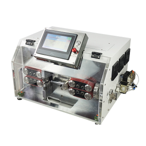 Wire Cutting and Outer Sheath Stripping Machine