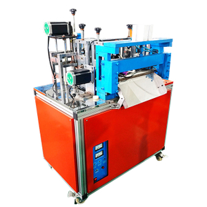 High Speed Ultrasonic Fabric Ribbon Webbing Cutting Machine
