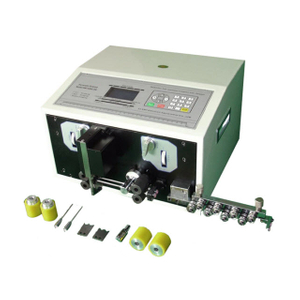 Thin Cable Cutting and Stripping Machine