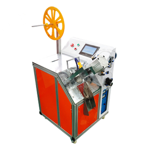 High Speed Two Knives Ultrasonic Woven Belt Cutting Machine