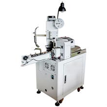 Automatic Wire Tinning and Terminal Crimping Machine