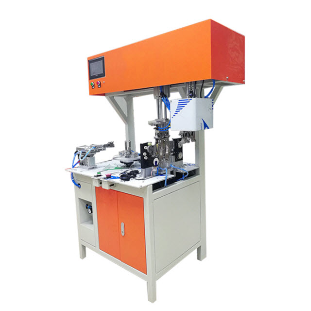Automated Thin Wire Coil Winding and Tying Machine