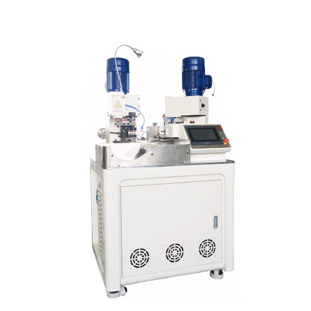 Automatic Wire Cut Strip Crimp Machine for Two-end Ferrules Terminal Crimping